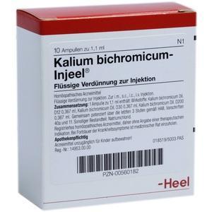 KALIUM BICHROMICUM INJEEL Ampullen