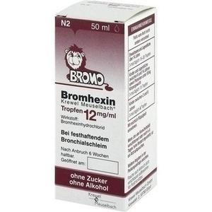 BROMHEXIN K M TRF 12MG/ML