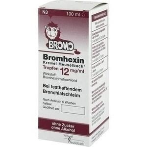 Bromhexin Krewel Meuselbach Tropfen 12mg/ml