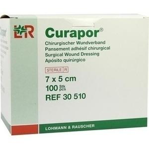 CURAPOR Wundverband steril 5x7 cm