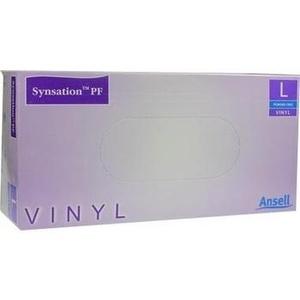 SYNSATION Vinyl Unters.Handsch.ungepudert groß