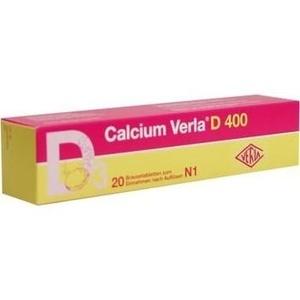CALCIUM VERLA D 400 Brausetabletten