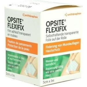 OPSITE Flexifix PU-Folie 5 cmx1 m unsteril Rolle
