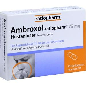 AMBROXOL-ratiopharm 75 mg Hustenlöser Retardkaps.
