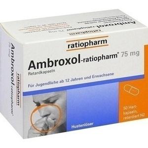 Ambroxol ratiopharm 75mg Hustenlöser Retardkapseln