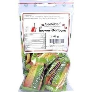 SEEFELDER Ingwer-Bonbons KDA