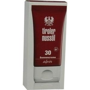 TIROLER NUSSÖL alpin Sonnencreme LSF 30