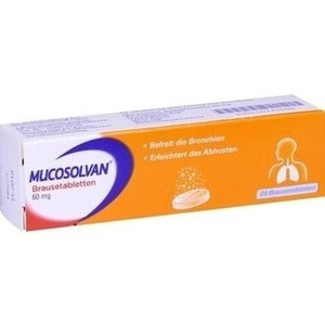 MUCOSOLVAN Brausetabletten 60 mg