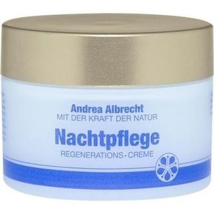 Andrea Albrecht Nachtpflegecreme mit Vitamin E + B
