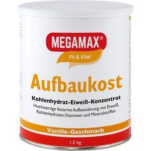 MEGAMAX Aufbaukost Vanille Pulver