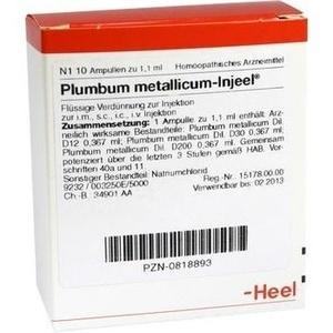 PLUMBUM METALLICUM INJEEL Ampullen