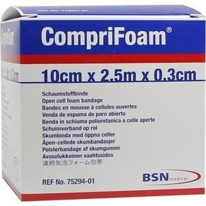 COMPRIFOAM 0,3 cmx10 cmx2,5 m Rolle