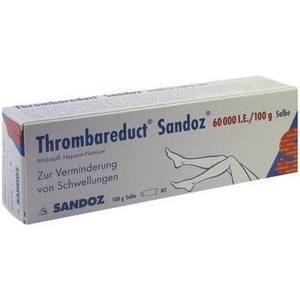 THROMBAREDUCT Sandoz 60.000 I.E. Salbe