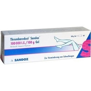 THROMBAREDUCT Sandoz 100.000 I.E. Gel