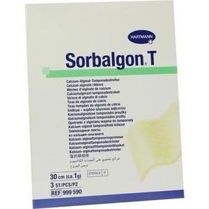 SORBALGON T Tamponade Streifen 1 g/30 cm
