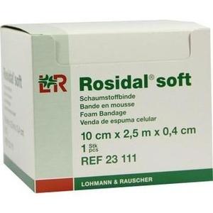 ROSIDAL Soft Binde 10x0,4 cmx2,5 m
