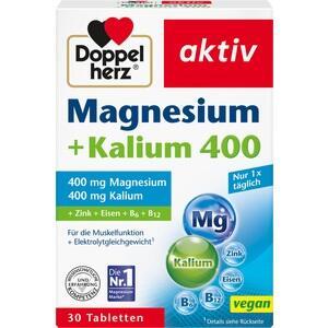 DOPPELHERZ Magnesium+Kalium Tabletten