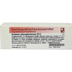 ACIDUM PHOSPHORICUM D 12 Globuli
