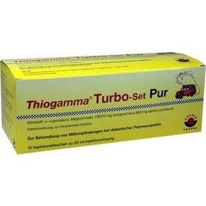 THIOGAMMA Turbo Set Pur Injektionsflaschen