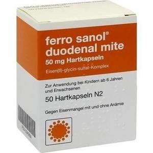 FERRO SANOL duo mite 50mg Hartk.m.msr.üb.Pell.