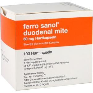 FERRO SANOL DUO MITE 50MG