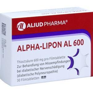 ALPHA LIPON AL 600 Comprimate filmate