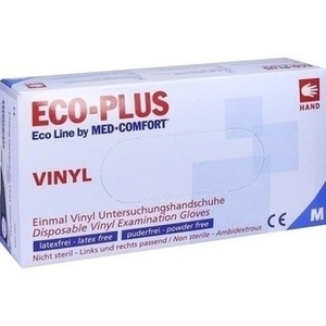 HANDSCHUHE Einmal Vinyl puderfrei M