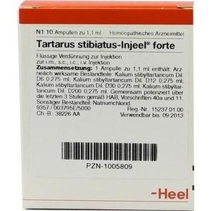 TARTARUS STIBIATUS INJEEL forte Ampullen