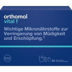 Orthomol Vital f Granulat/Kapseln Kombipackung