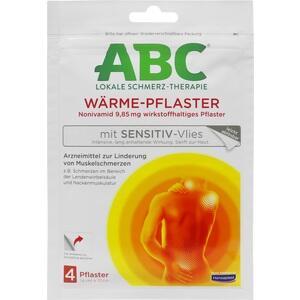 HANSAPLAST med ABC Wärme Pflaster sensitiv