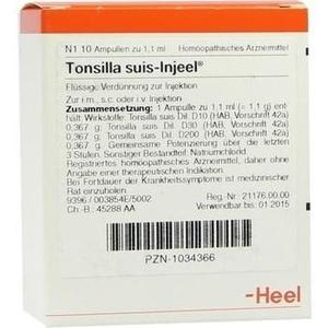 TONSILLA SUIS Injeel Ampullen