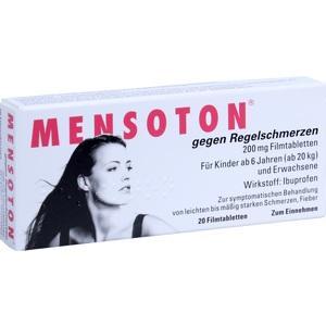 MENSOTON gg. Regelschmerzen Filmtabletten