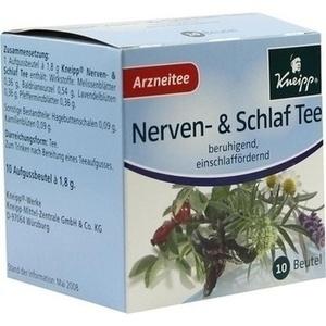 KNEIPP Tee Nerven und Schlaf Filterbeutel