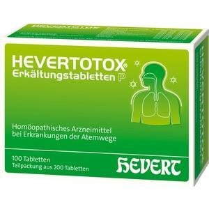 Hevertotox Erkältungstabletten P