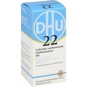BIOCHEMIE DHU 22 Calcium carbonicum D 6 Tabletten