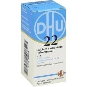 BIOCHEMIE DHU 22 Calcium carbonicum D 12 Tabletten