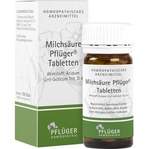 MILCHSÄURE Pflüger Tabletten