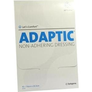 ADAPTIC 7,6x20,3 cm feuchte Wundauflage
