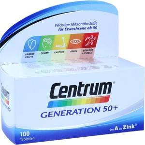 CENTRUM Gen.50+ A-Zink+FloraGlo Lutein Capletten