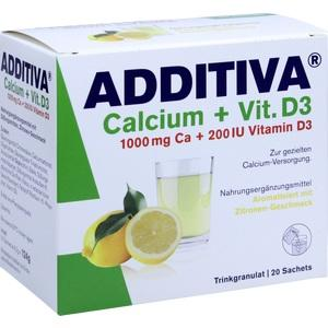 ADDITIVA CALC1000MG+VIT D3