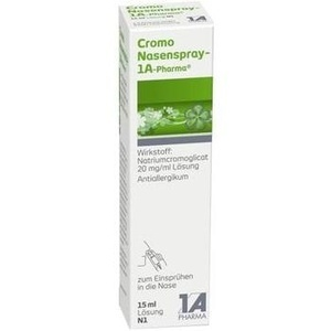 CROMO Nasenspray 1A Pharma