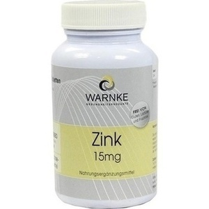 ZINK 15 mg Tabletten