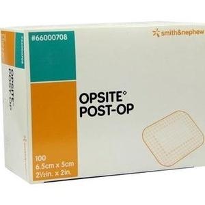 OPSITE Post Op 5x6,5 cm Verband einzeln steril