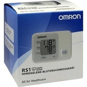 OMRON RS1 Handgelenk Blutdruckmessgerät vollautom.