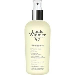WIDMER Remederm Körperöl Spray leicht parfüm.
