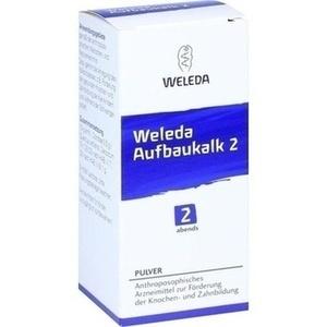 WELEDA AUFBAUKALK 2 Pulver
