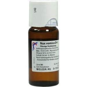 NUX VOMICA D 4 Dilution