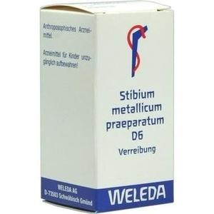 STIBIUM MET. PRAEPARATUM D 6 Trituration