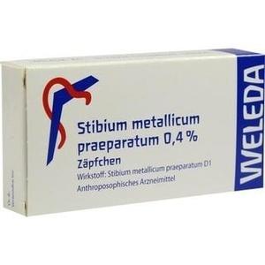 STIBIUM MET. PRAEPARATUM 0,4% Suppositorien