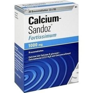 Calcium-Sandoz® fortissimum Brausetabletten